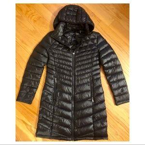 Calvin Klein women's hooded packable puffer coat